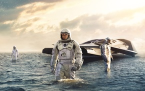 spacesuit, movies, futuristic, science fiction, Matthew McConaughey, Interstellar movie