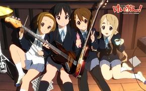 Akiyama Mio, K, ON, Kotobuki Tsumugi, Hirasawa Yui, Tainaka Ritsu