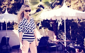 swimwear, celebrity, Kirsten Dunst, girl