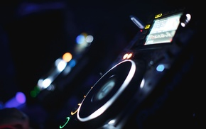 turntables, mixing consoles