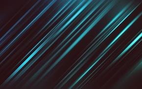 artwork, digital art, dark, turquoise, abstract