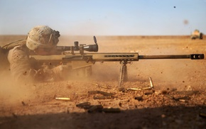 desert, sniper rifle, gun, rifles, soldier, war