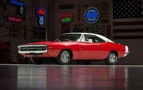 Dodge Charger RT, muscle cars, Dodge Charger, classic car, car