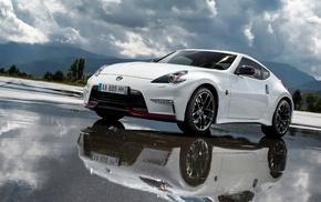 car, race cars, Nissan, sports car