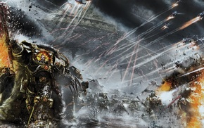 Warhammer 40, 000, Horus Heresy, artwork, war, digital art