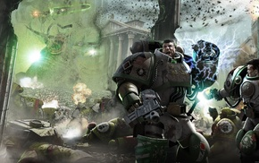 science fiction, Horus Heresy, artwork, futuristic, space marines, Warhammer 40