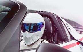 The Stig, men, Top Gear, sports car, Porsche, Porsche 918 Spyder