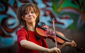 violin, Lindsey Stirling, girl