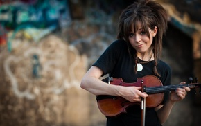 Lindsey Stirling, violin, girl