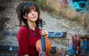 violin, girl, Lindsey Stirling