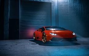 Lamborghini, red, supercars, Lamborghini Huracan, Lamborghini Huracan LP 610, 4