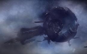 Mass Effect 3, Mass Effect, artwork, The Crucible, video games