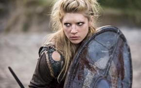 Vikings, actress, girl, blonde, Vikings TV series, Katheryn Winnick