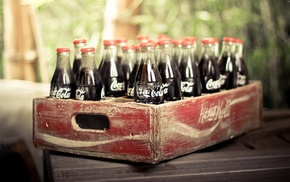 Coca, Cola, drink