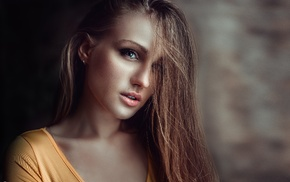 looking at viewer, girl, brunette, Georgiy Chernyadyev, model