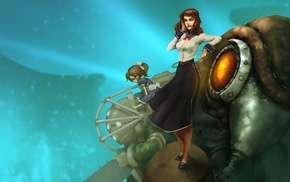 BioShock Infinite, Songbird BioShock, BioShock, Elizabeth BioShock