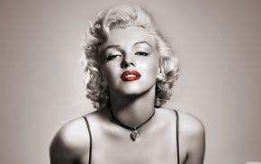 blonde, actress, Marilyn Monroe