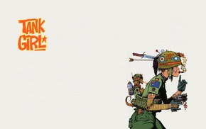 tank, Tank Girl, comic books