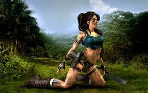 Tomb Raider, Lara Croft, video games, artwork