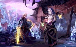 sword, magic