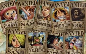 Franky, Nico Robin, Monkey D. Luffy, Usopp, Nami, Roronoa Zoro