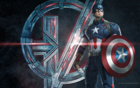 shields, Steve Rogers, concept art, superhero, Avengers Age of Ultron, movies