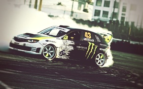 Gymkhana, Subaru, Ken Block, Monster Energy
