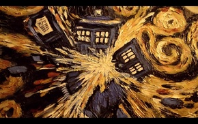 TARDIS, Doctor Who, Vincent van Gogh