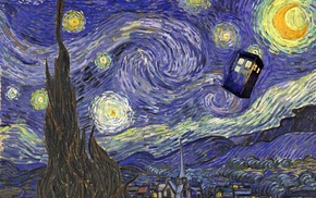 Doctor Who, TARDIS, Vincent van Gogh