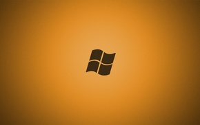 Microsoft Windows, yellow background
