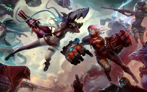 Ziggs, Shen, Blitzcrank, League of Legends, Yasuo, Sona