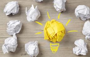 wood, lightbulb, creativity, yellow, ball, minimalism