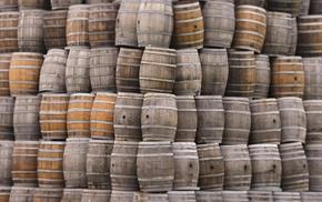 wood, barrels, photography