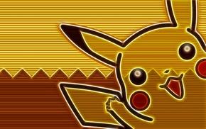 Pikachu, Pokemon, digital art
