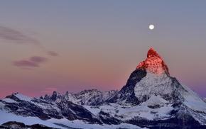 Matterhorn, nature, Alps