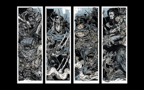fan art, Teenage Mutant Ninja Turtles, Rhys Cooper, Shredder
