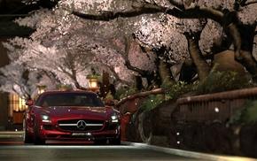 Gran Turismo 5, Mercedes, Benz SLS AMG, video games