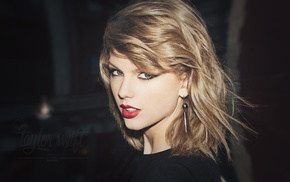 blue eyes, face, girl, portrait, singer, Taylor Swift