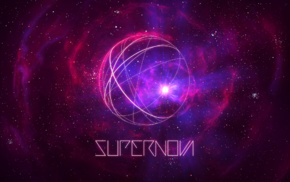 abstract, typography, explosion, streaks, nebula, TylerCreatesWorlds
