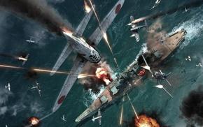 World War II, Japan, military, airplane, military aircraft, Japanese