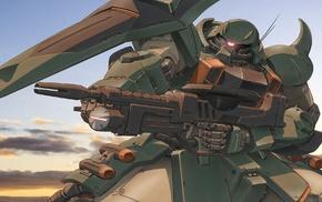 Mobile Suit Gundam SEED, Gundam, Zaku II