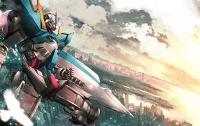 Gundam, anime vectors, Mobile Suit Gundam 00, Exia