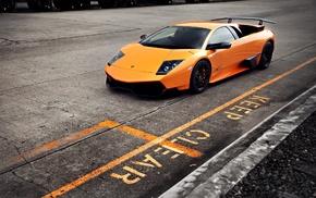 yellow cars, Lamborghini Murcielago LP 670, 4 Super Veloce, Lamborghini, 4 SV, Lamborghini Murcielago