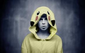Yolandi Visser, selective coloring, girl, Die Antwoord, costumes, music