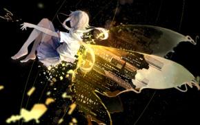 Vocaloid, butterfly, Hatsune Miku