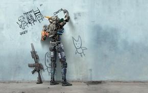 robot, Chappie, movies, 2015