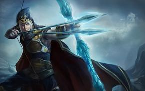 genderswap, archers, warrior, League of Legends, Ashe