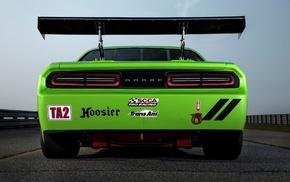 Dodge Challenger SRT Trans, Am, Dodge Challenger, Dodge, Dodge Challenger SRT, green cars