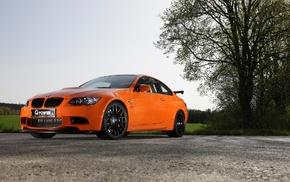 car, orange cars, G, Power, BMW M3, BMW M3 GTS