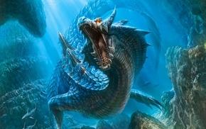 Monster Hunter, Lagiacrus, dragon